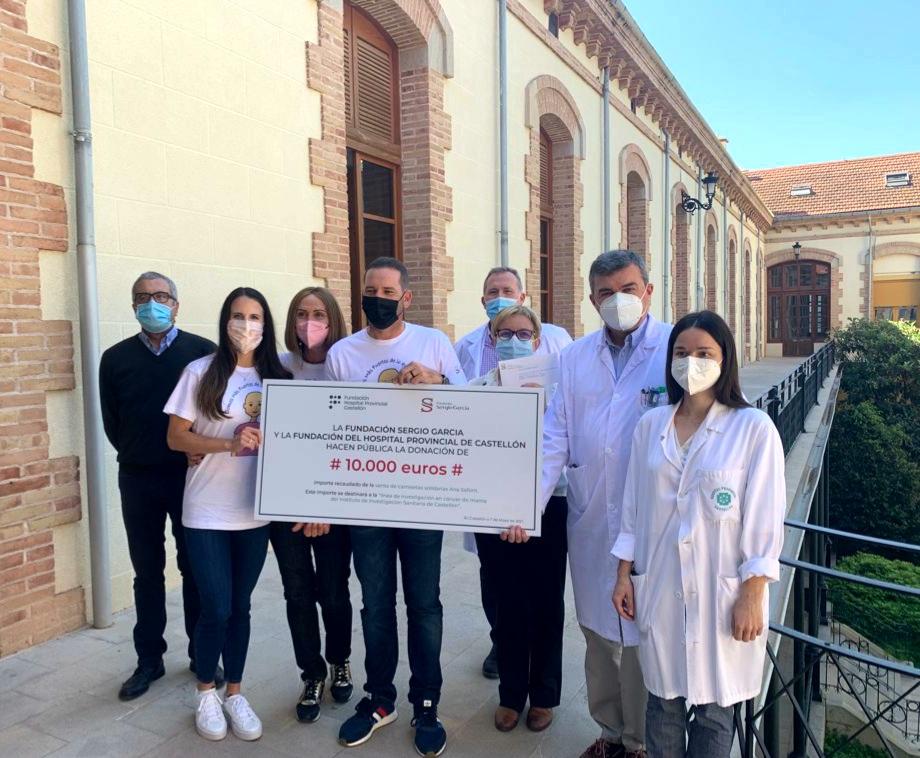 La Fundación Sergio García apoya la investigación en cáncer de mama